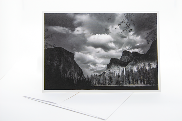 Yosemite Valley   Note Card | Robert Vielee Photography