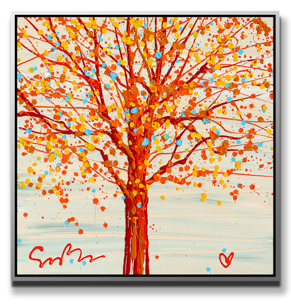"""Simon Bull Available Original Painting - """"Our Tree"""""""