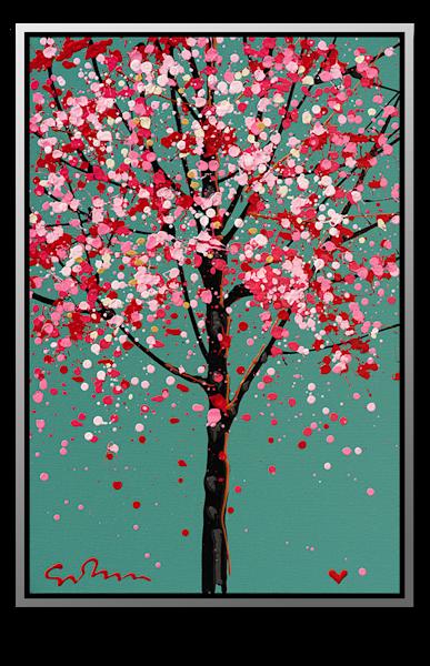 "Simon Bull Available Original Painting - ""April Showers"""