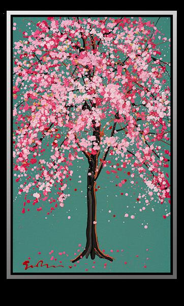"Simon Bull Available Original Painting - ""Crab Apple"""