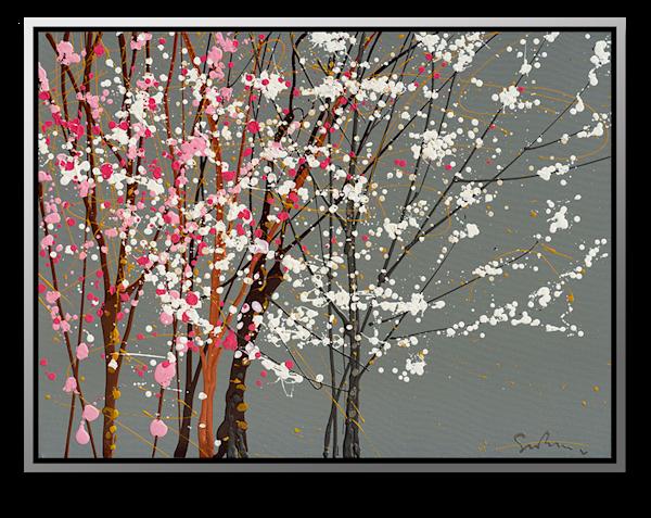 "Simon Bull Available Original Painting - ""Buds"""