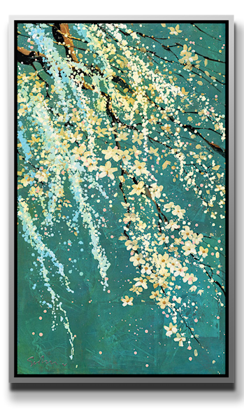 """Simon Bull Available Original Painting - """"Cascades"""""""