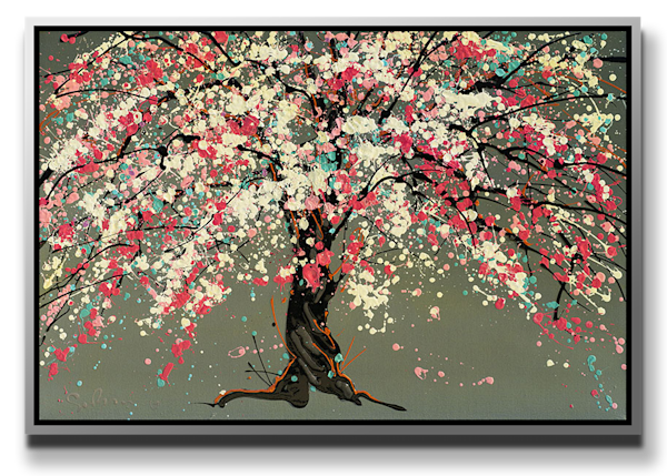 """Simon Bull Available Original Painting - """"There Will Be Cherries"""""""