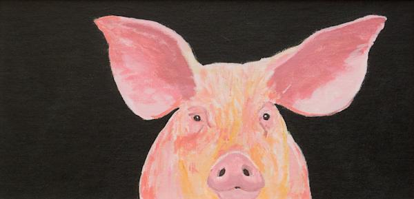 Big Pig Print