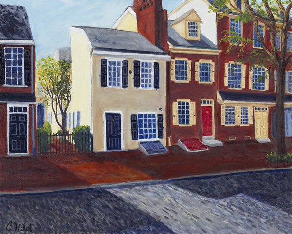 Delancey Street Philadelphia Print