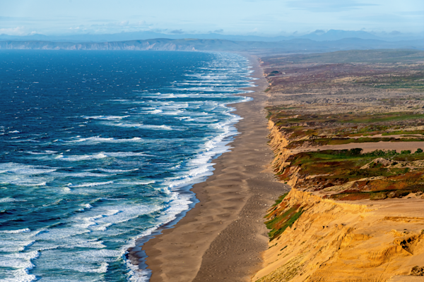 Print Art Point Reyes National Seashore California Point Reyes Coastline