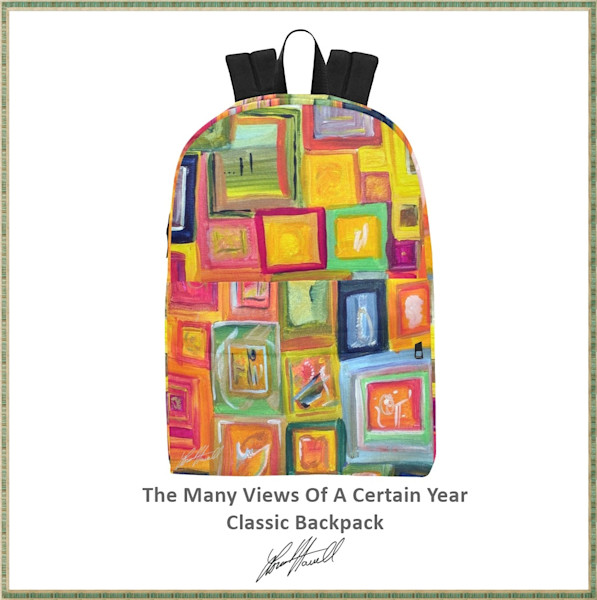 The Many Views Of A Certain Year Classic Backpack