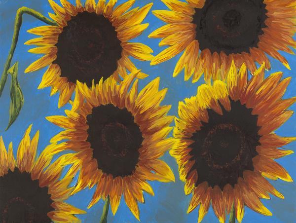 Sunflowers3 Print