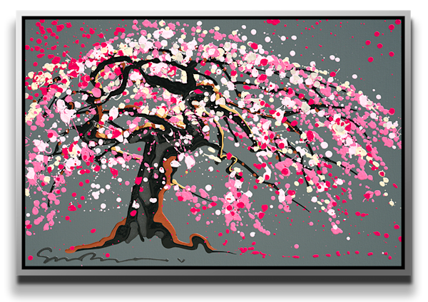 "Simon Bull Available Original Painting - ""The Wisdom of Spring"""