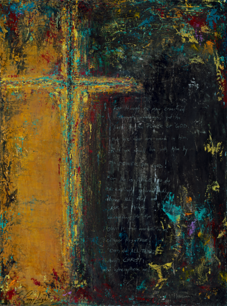 He Is Able Art | Peggy Leigh Art