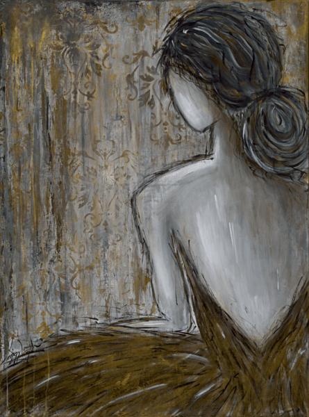 Always A Golden Girl  Art | Peggy Leigh Art