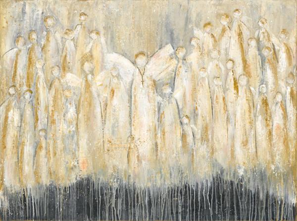 We Sing Hallelujah Art | Peggy Leigh Art
