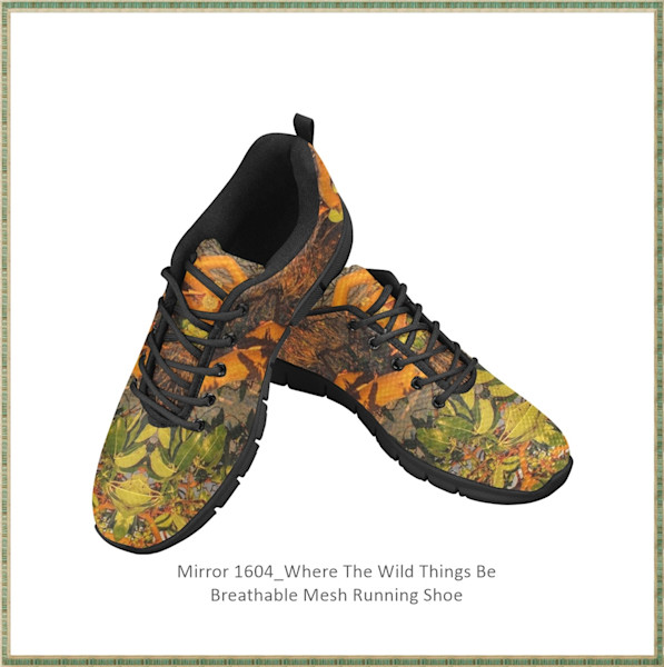 Mirror 1604_Where The Wild Things Be Breathable Mesh Running Shoe