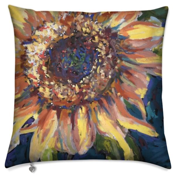 Sunflower Pillow | ebaumeistermcintyre