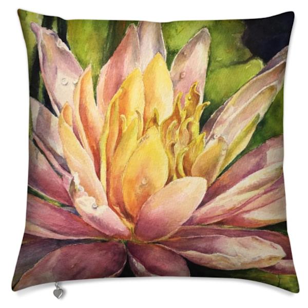 Waterlily Pillow | ebaumeistermcintyre