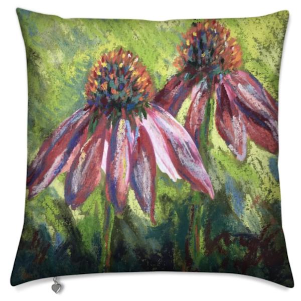 Purple Coneflower Pillow | ebaumeistermcintyre
