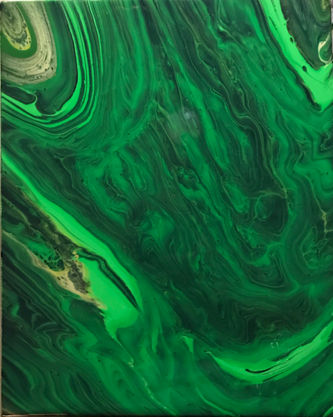 Malachite  Art | Abstraction Gallery by Brenden