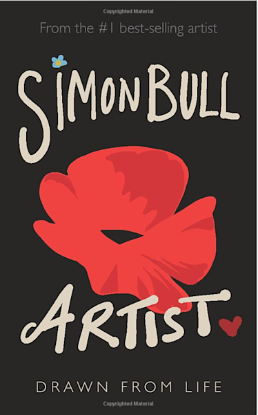 Artist, Drawn From Life   Paperback Book By Simon Bull | MEUSE Gallery