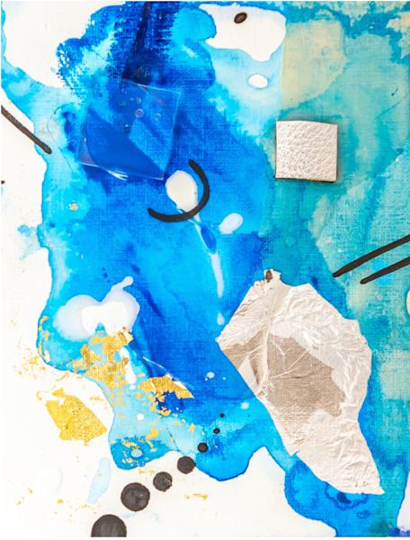 Floating Art   Makiko Harris Art
