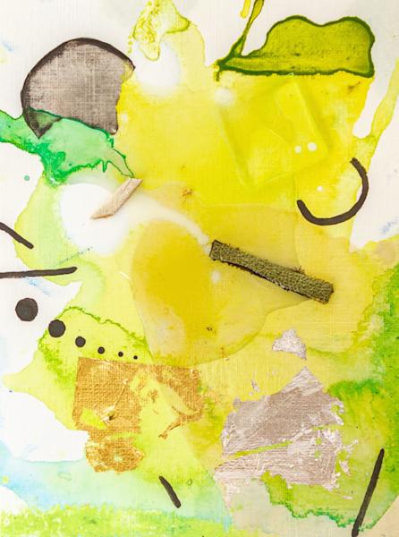 Fresh Cut Grass Art | Makiko Harris Art