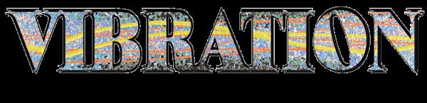 Vibration Text Logo Art | Anonymous Art Studios