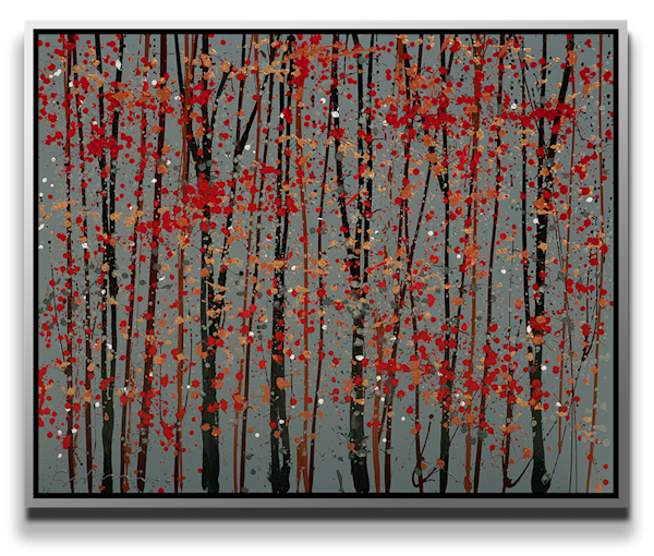 """Simon Bull Available Original Painting - """"Branches"""""""