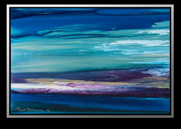 "Simon Bull Available Original Painting - ""Like A Thread Of Gold"""