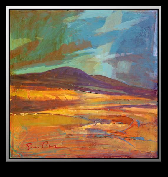 "Simon Bull Available Original Painting - ""Victorine Ranch"""