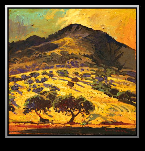 """Simon Bull Available Original Painting - """"Sierra De Salinas"""""""