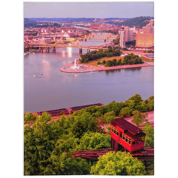 Pittsburgh Blanket   Willard R Smith Photography