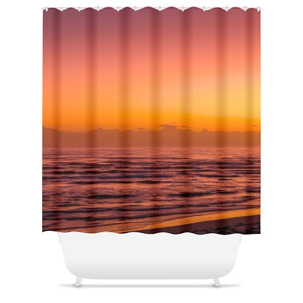 Dream Sunrise Shower Curtain   Willard R Smith Photography