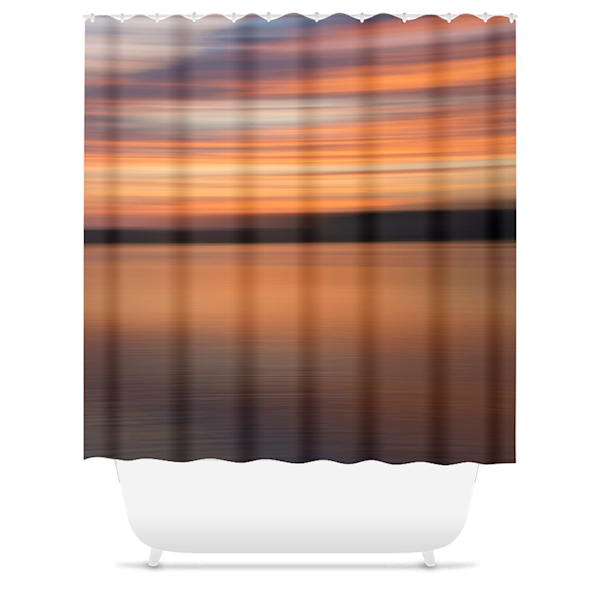 Moving Sunrise Shower Curtain   Willard R Smith Photography