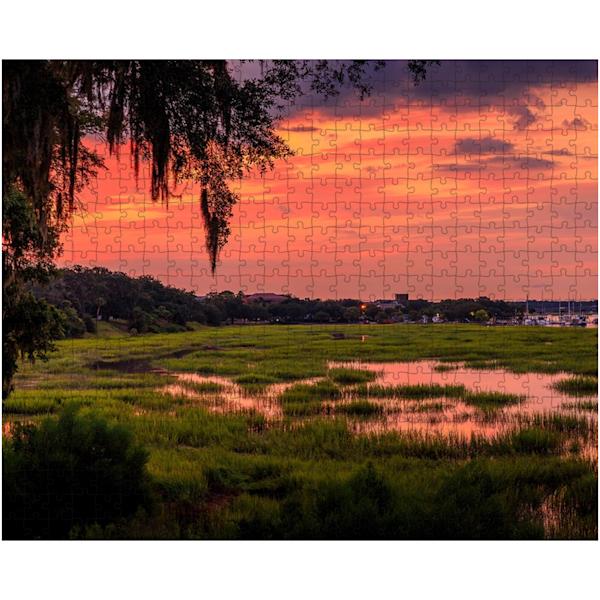 Bluff Sunrise Puzzle | Willard R Smith Photography
