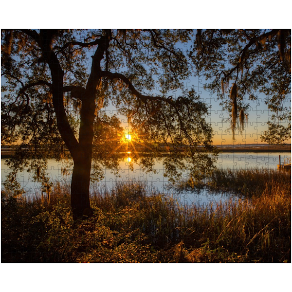Lace Sunset Puzzle | Willard R Smith Photography