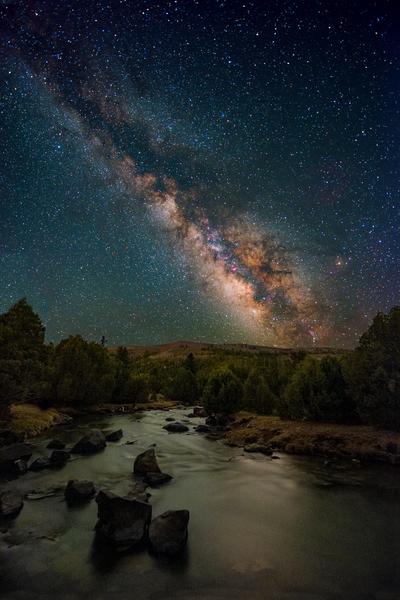 Mammoth Creek Starry Sky Photography Art | Craig Primas Photography
