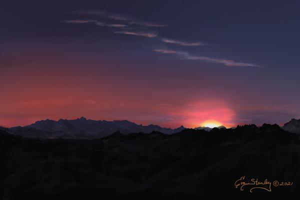 Chihuahua Desert Sunrise