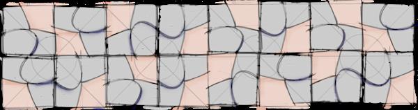 M Silouhette Sketch Art | adelavega