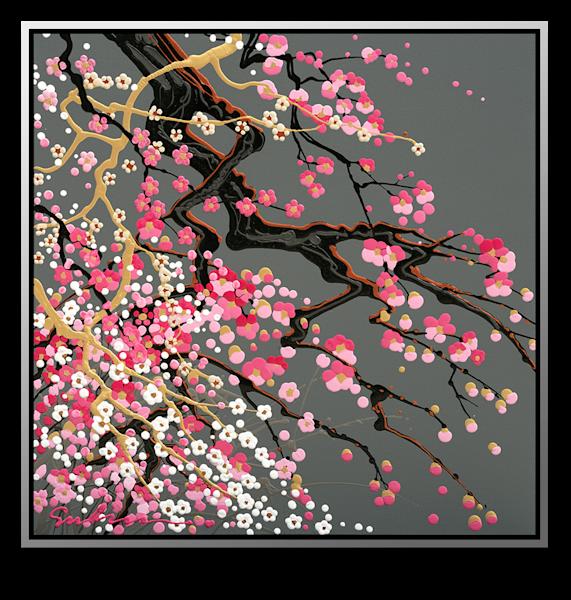 "Simon Bull Available Original Painting - ""Pink Mountain"""