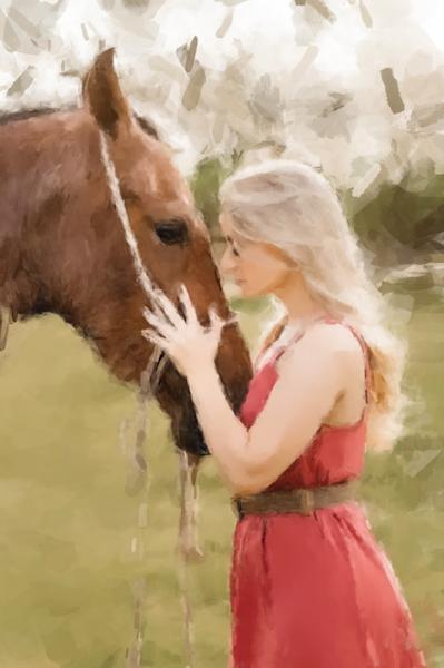 Horse Whisperer Art | Windhorse