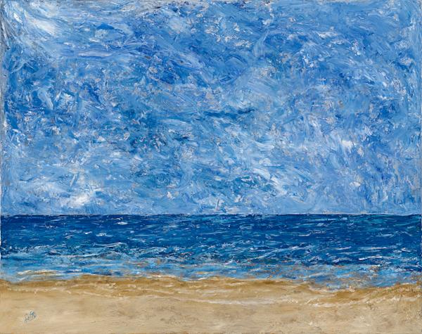 Sand Sea and Infinity
