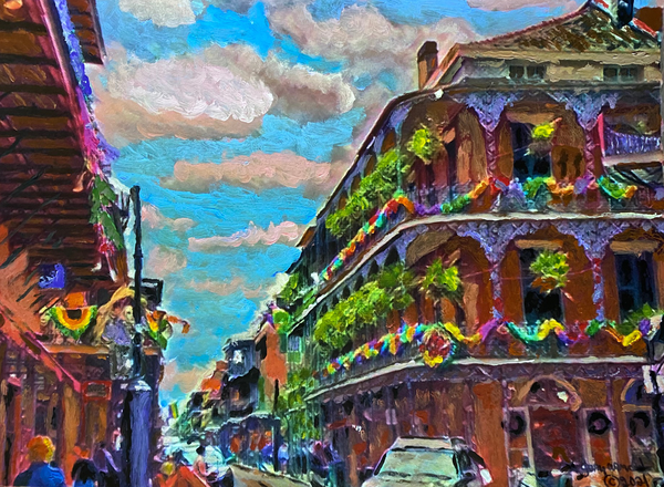 The French Quarter Art | Windhorse