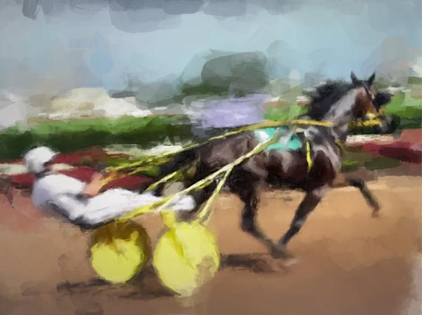 Trotter, Original Acrylic Art Art | Windhorse