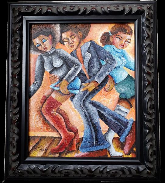 Dance Floor No. 2 Art   Toshfomby