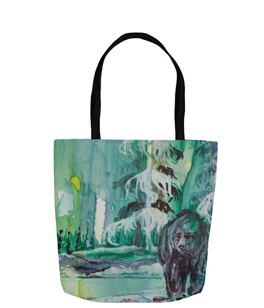 Allaq Tote Bag   Karen Bishop Artist