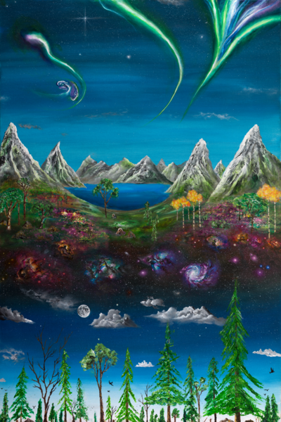 Blossoming Universe  Art | Boundless Creations