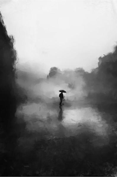 Walking In The Fog Art | Windhorse