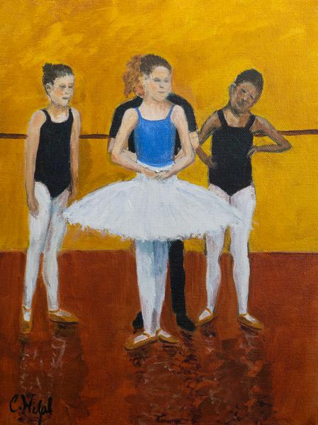 Ballerina Dancers Print