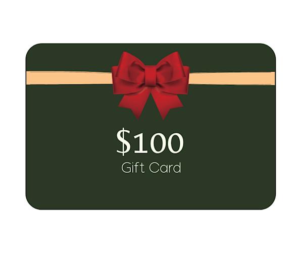 $100 Gift Card | Mathieu Laca