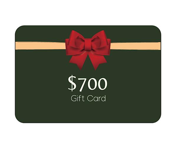 $700 Gift Card | Mathieu Laca