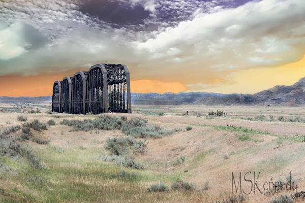 Train Bridge Art   Cutlass Bay Productions, LLC
